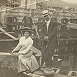 Portrait of Couple during Panama Canal Construction
